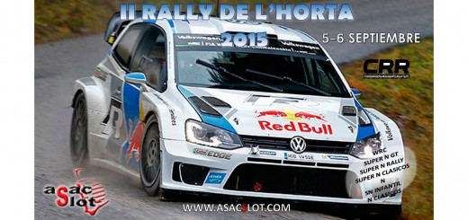 CARTEL II RALLY DE L´HORTA2