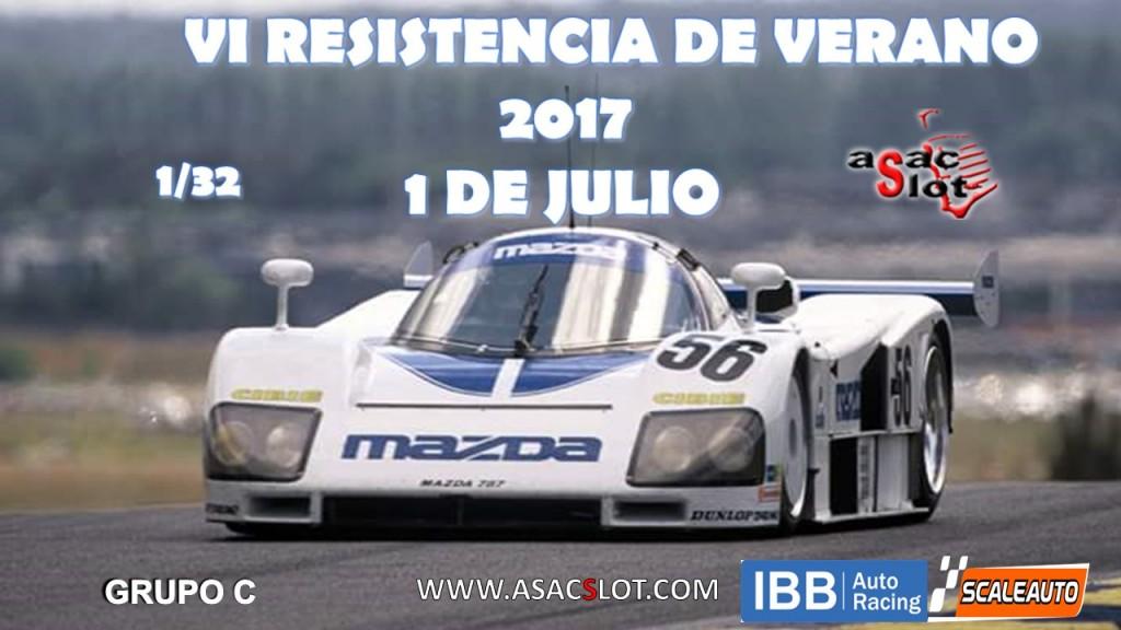 CARTEL RESISTENCIA VERANO 2017