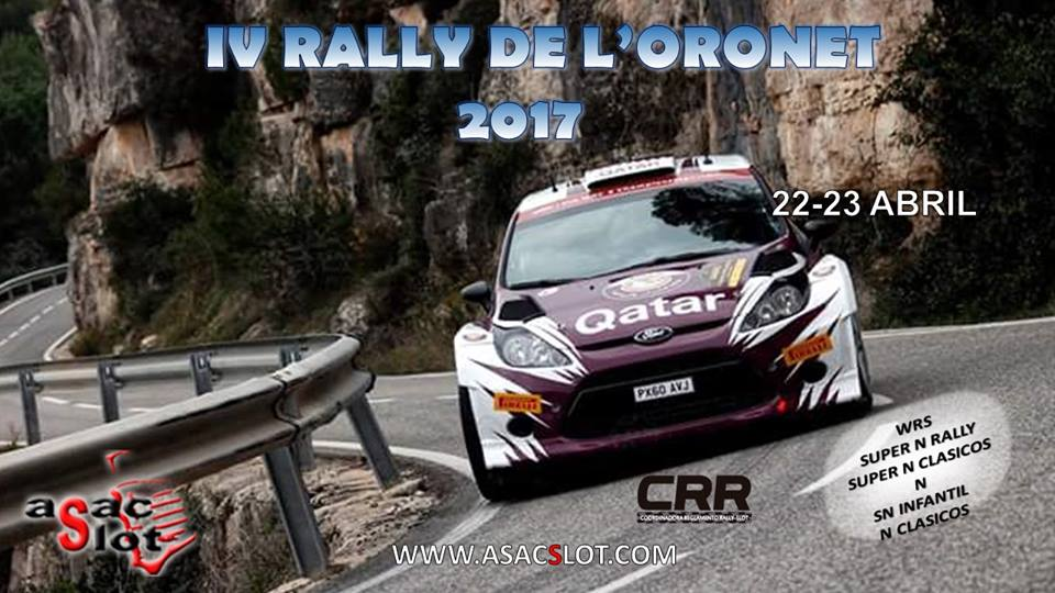 IV Rally del Oronet