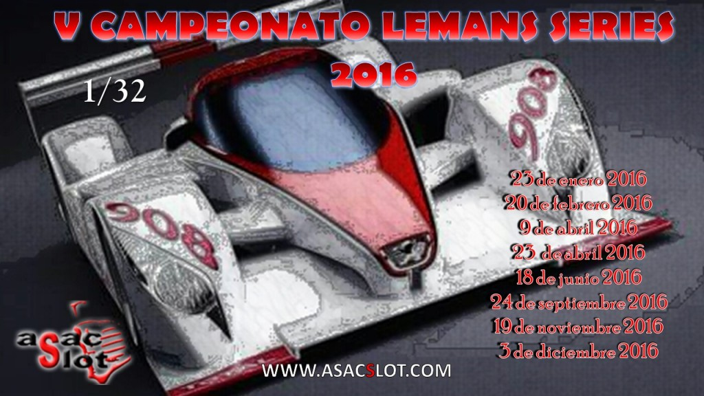CARTEL LE MANS SERIES 2016